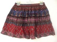 Mini Skirts Bagru Printed