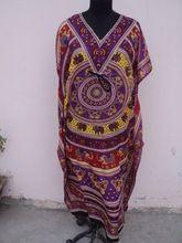 Polyester Summer Caftan Dress