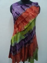 Tie And Dye Cotton Dress