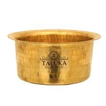 Brass Cooking Pot Cookware Set