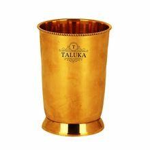 Brass Water Glass