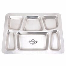 Stainless Steel Compartment Tray