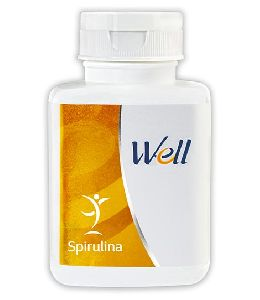 Well Spirulina Tablets
