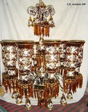 Hand Painted Vintage Chandelier