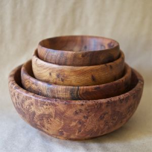 Bamboo Wooden Salad Bowl
