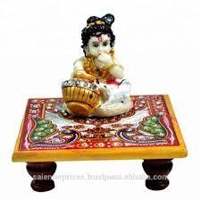 Handmade Marble Lord Krishna Statue