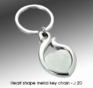 Metal Logo Key Chain