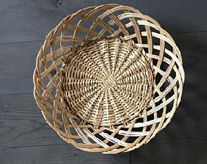 Oval Bamboo Wicker Basket
