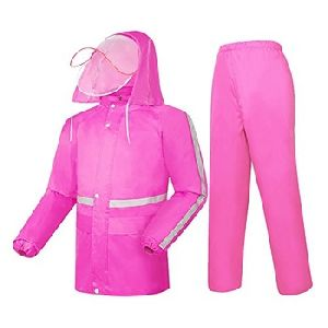 Plain Colourful Xxxi Women Rain Coat