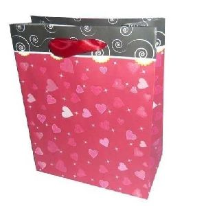 Plain Paper Colorful Shopping Bag