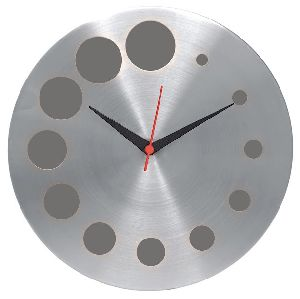 Round Shape Metal Wall Clock
