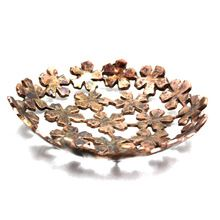 Copper Antique Aluminium Round Bowl