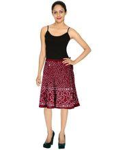 Boho Casual Mini Skirt