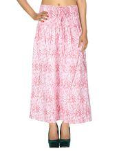 Casual Wear Calf Length Skirt