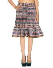 Knee Length Cotton Women Skirt