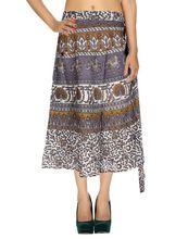 Long Sarong Wrap Skirt