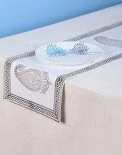 Printed Paisley Cotton Table Runner