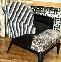 Printed Sofa Fleece Blanket