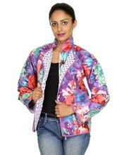 Quilted Full Sleeves Womens Jacket