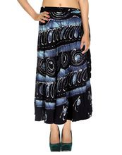 Rayon Casual Wrap Skirt