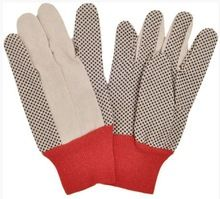 Canvas material with pvc dot spair gloves