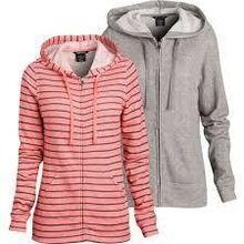 Ladies Hooded fashion Sweat Shirt