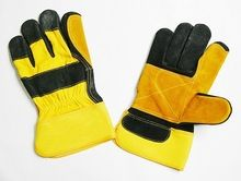 Safety-gloves With Reinforced