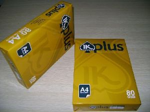 Superior Quality Ik Plus Paper / Ik Yellow Paper A4 Copy Paper