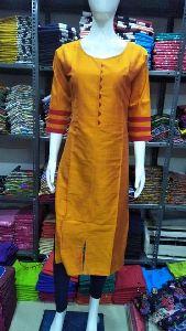 Cotton Silk Daily Wear Kurtis