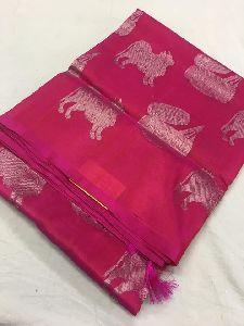 Pure Venkatagiri Cotton Saree