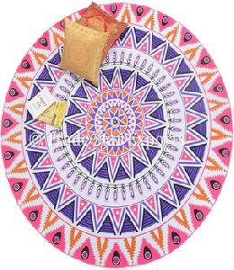 Cloth Boho Picnic Blanket Hippie Meditation Cover