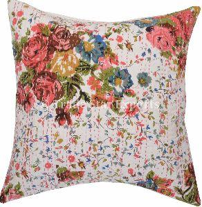 Cotton Ikat Fabric Decorative Pillow Case Cover