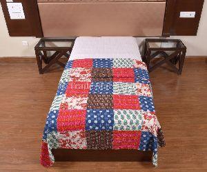 Cotton Patchwork Kantha Quilt