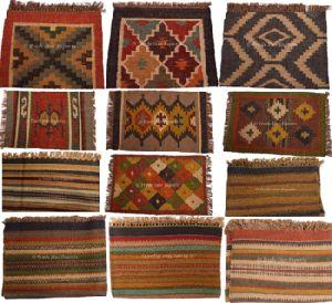 Ethnic Handwoven Vintage Decorative Floor Mat