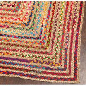 Handmade Braided Jute Rug