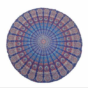 Hippie Round Table Cover