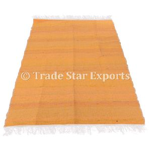 Reversible Large Area Rag Rug Floor Mat