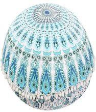 Round Mandala Tapestry Floor Pillows