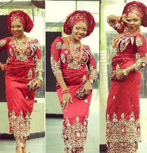 Georgette African Dress