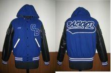 Hooded Baseball Jacket