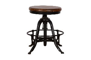 Bar Stool Leather Top