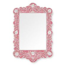 Bone Inlay Designer Stylish Mirror Frame