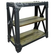 Industrial Small Bucherregal Bookshelf