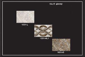 250x375 Mm Glossy Series Wall Tiles