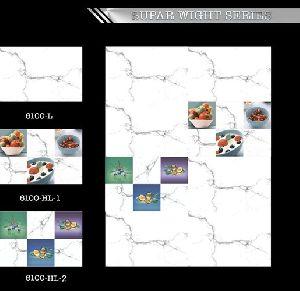 300x450 Mm Sugar White Series Wall Tiles