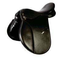 Black Jumping Horse Riding Saddle