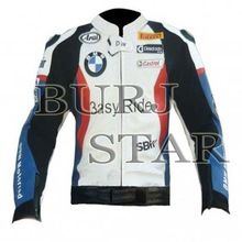 Safety Motorbike Racing Leather Jacket