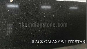 Black Galaxy White Star Granite Tiles