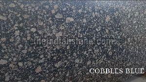 Cobbles Blue Granite Tiles