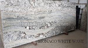 Monaco White Wave Granite Tiles